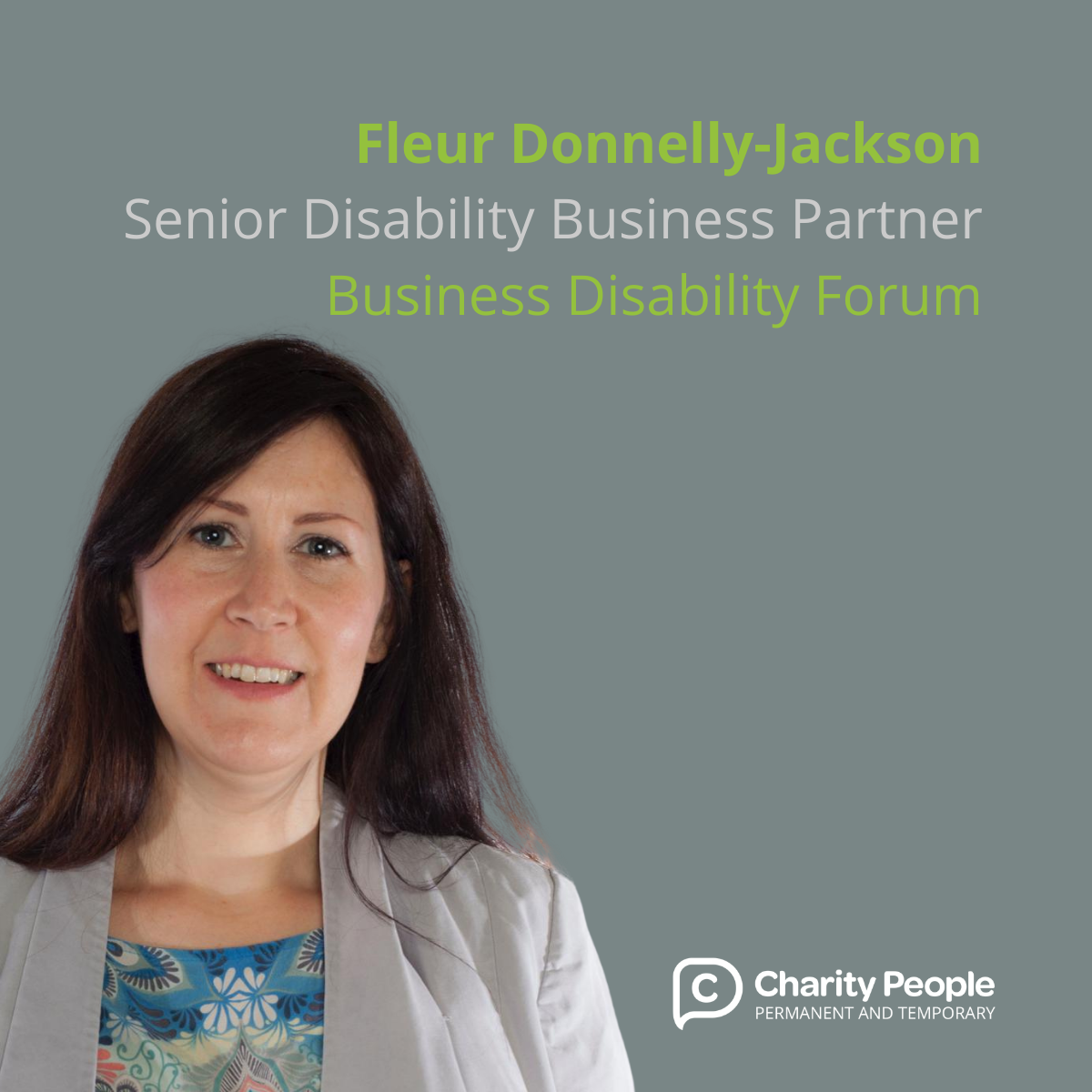 Impactful Recruitment: Fleur Donnelly-Jackson at Business Disability Forum