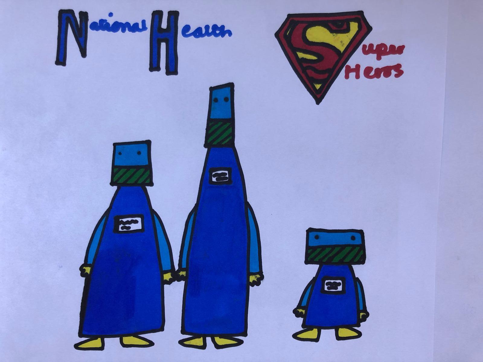 COVID 19 – Superheroes
