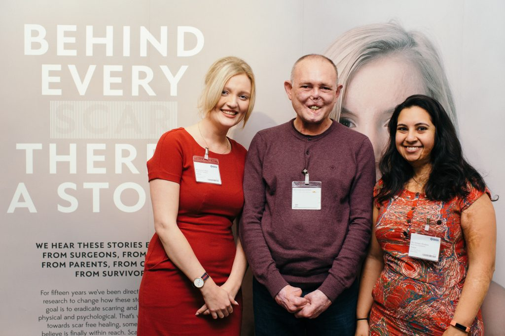 The Scar Free Foundation AGM, Lois, Jaco and Hermani