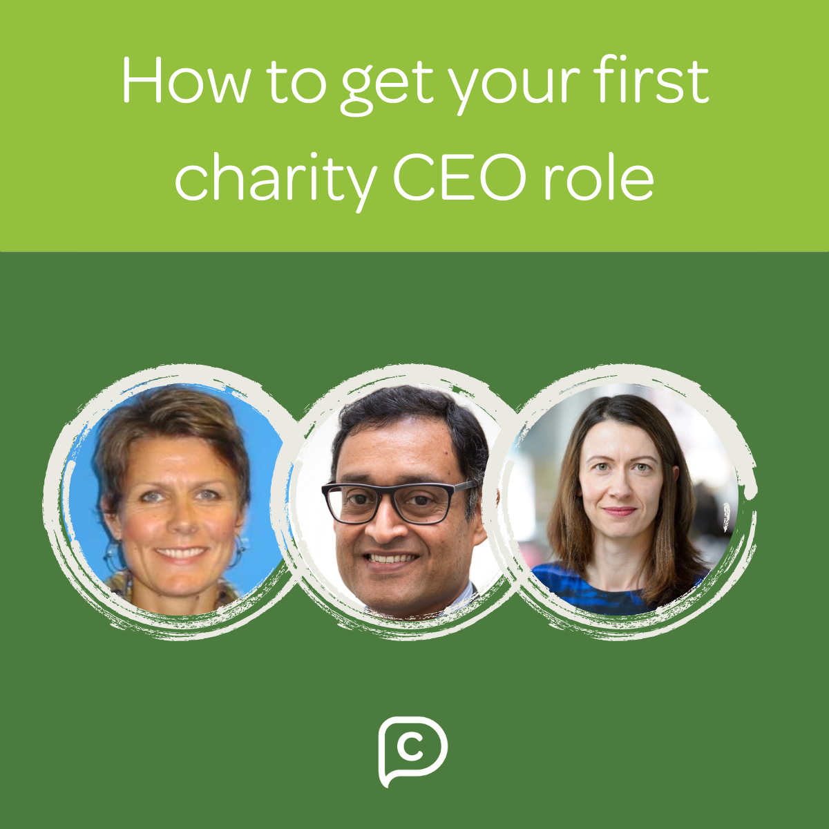 How to get your first charity CEO role