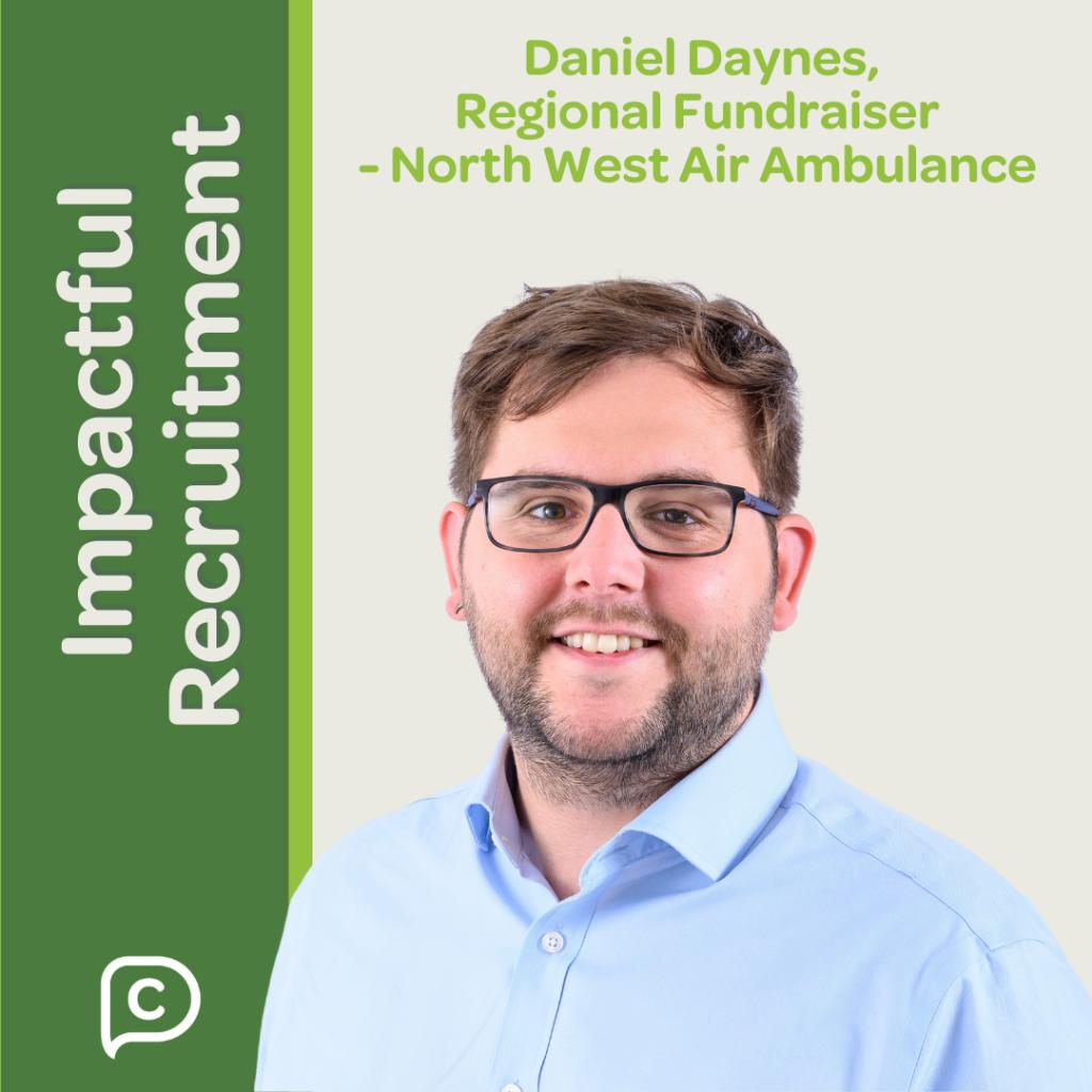 Danny Daynes, Regional Fundraiser, North-West Air Ambulance